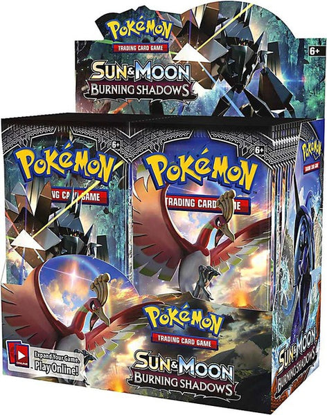 Pokemon SUN & MOON Burning Shadows Trading Cards Booster Packet