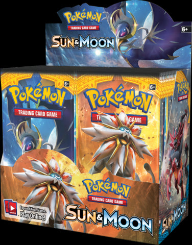 Pokemon SUN & MOON Trading Cards Booster Packet - merchandise by Pokemon The Chelsea Gamer