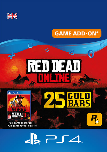 Red Dead Online Gold Bars