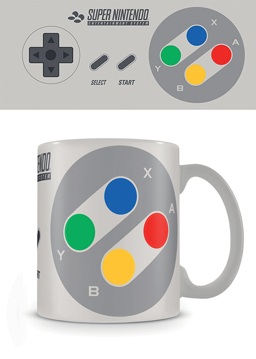 Pyramid International Nintendo (Snes Controller) Official Boxed Ceramic Coffee/Tea Mug
