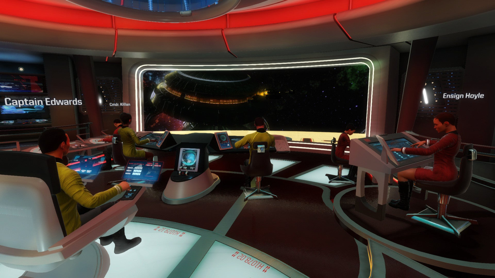 STAR TREK BRIDGE COMMAND - PSVR