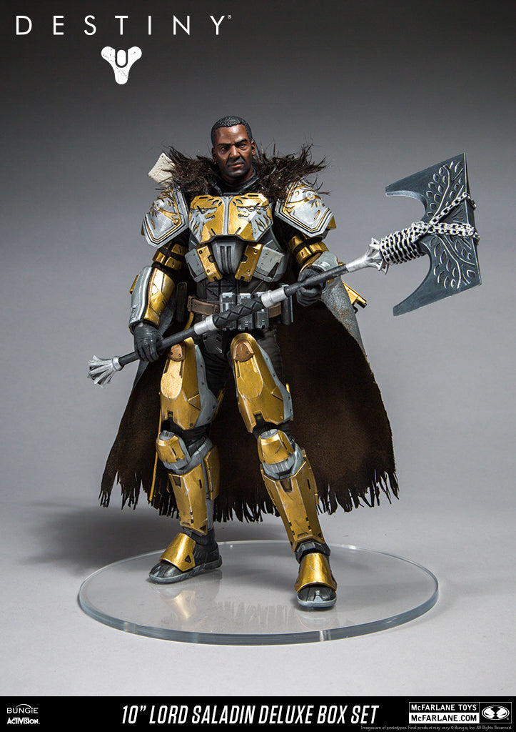 Destiny - Lord Saladin Action Figure, 10-Inch
