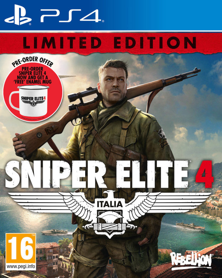 Sniper Elite 4 (Pre-Order Limited Edition) - PS4 - Video Games by Sold Out The Chelsea Gamer