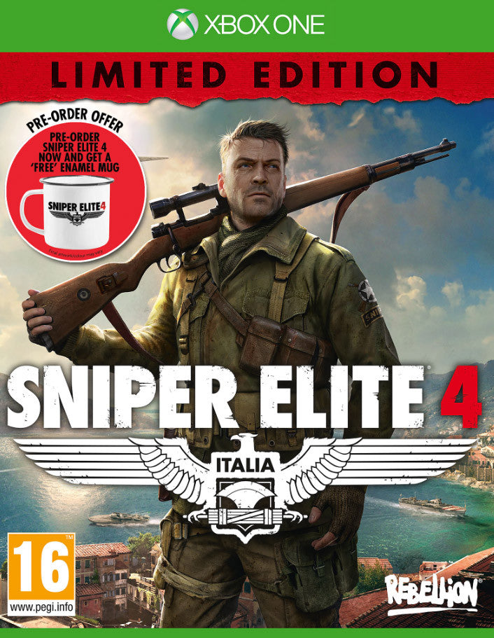 Sniper Elite 4 (Pre-Order Limited Edition) - Xbox One - Video Games by Sold Out The Chelsea Gamer