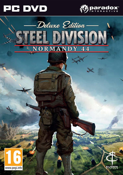 Steel Division Normandy 44 - PC - Deluxe Edition - Video Games by Ikaron The Chelsea Gamer