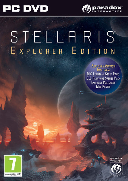 Stellaris Explorer Edition - PC - Video Games by Ikaron The Chelsea Gamer