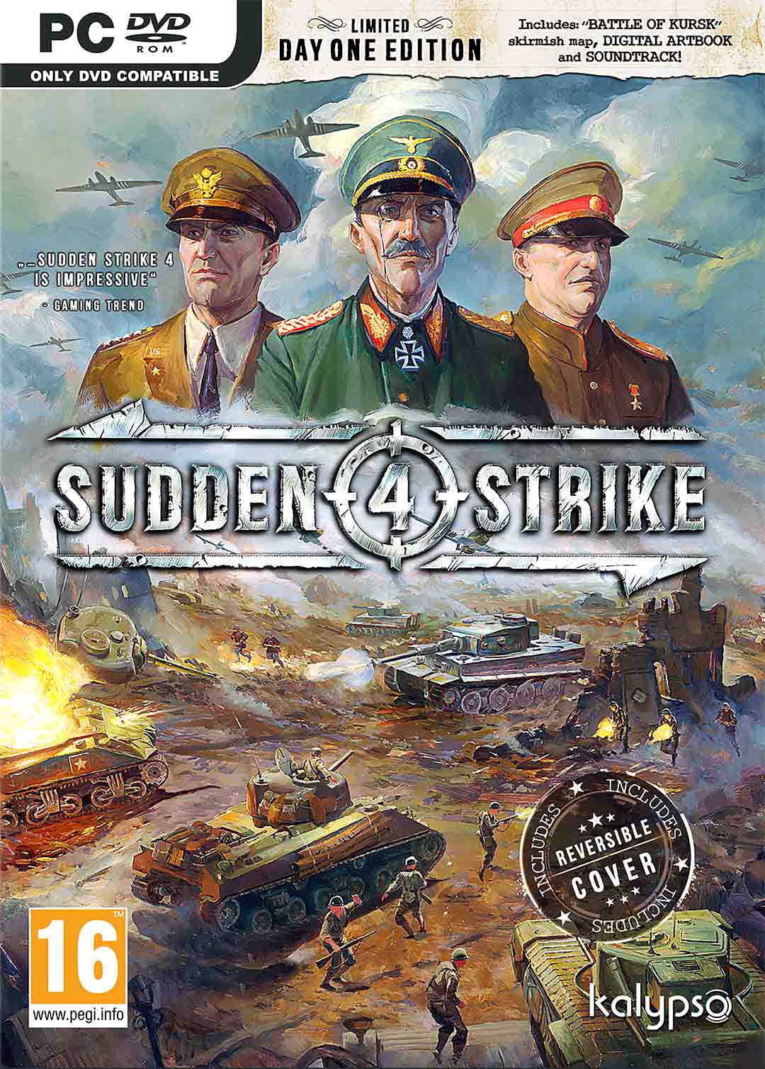 Sudden Strike 4 Limited Day One Edition - PC