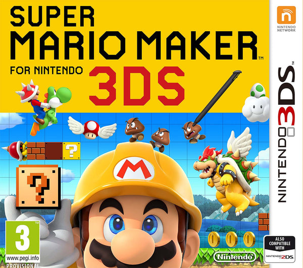 Super Mario Maker 3DS - Video Games by Nintendo The Chelsea Gamer