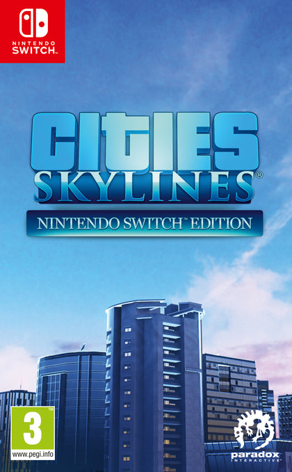 Cities: Skylines - Nintendo Switch Edition - Video Games by Pardox The Chelsea Gamer