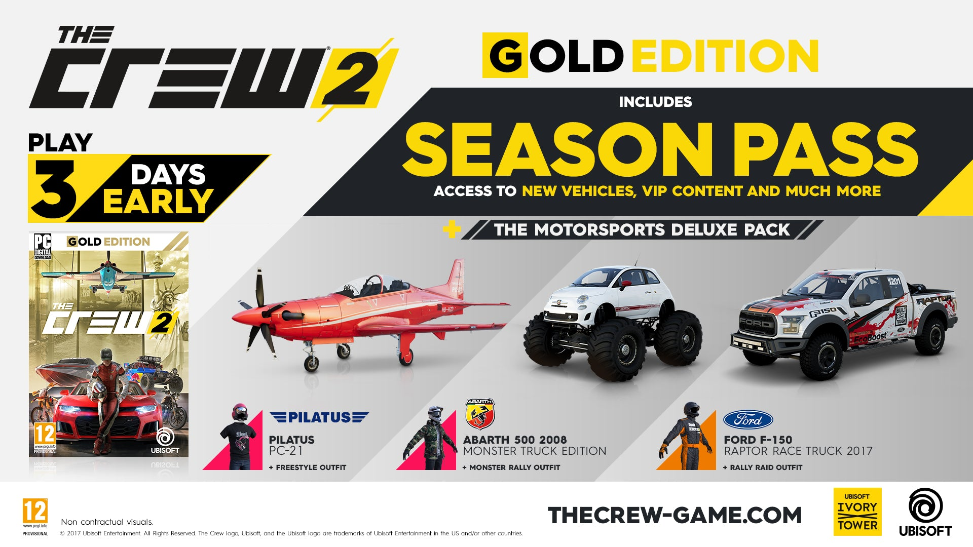 The Crew 2 - Gold Edition - Xbox One