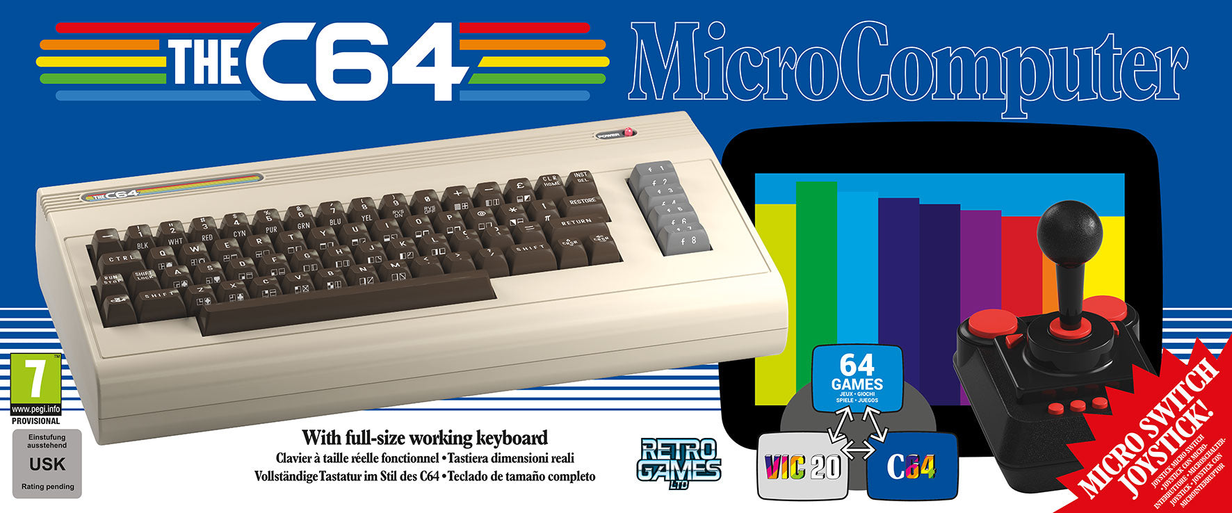 THE C64®- Full Sized