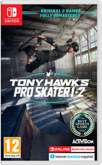 Tony Hawk's Pro Skater 1+2 - Nintendo Switch