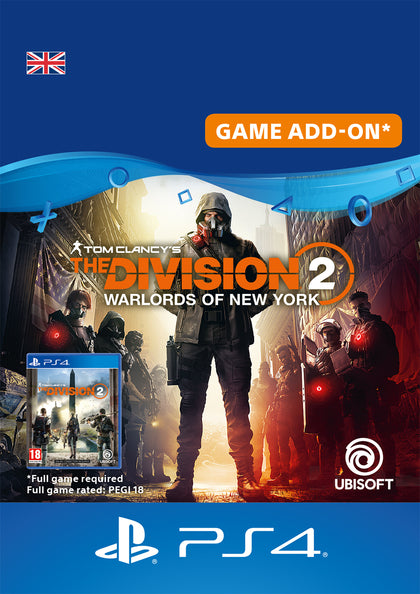 The Division 2 Warlords of New York Expansion - PlayStation 4