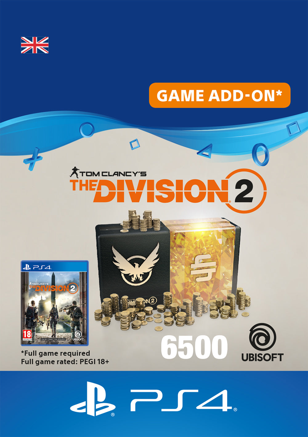 Tom Clancy's The Division 2 - Premium Credits