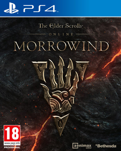 The Elder Scrolls Online: Morrowind - PS4 - Video Games by Bethesda The Chelsea Gamer