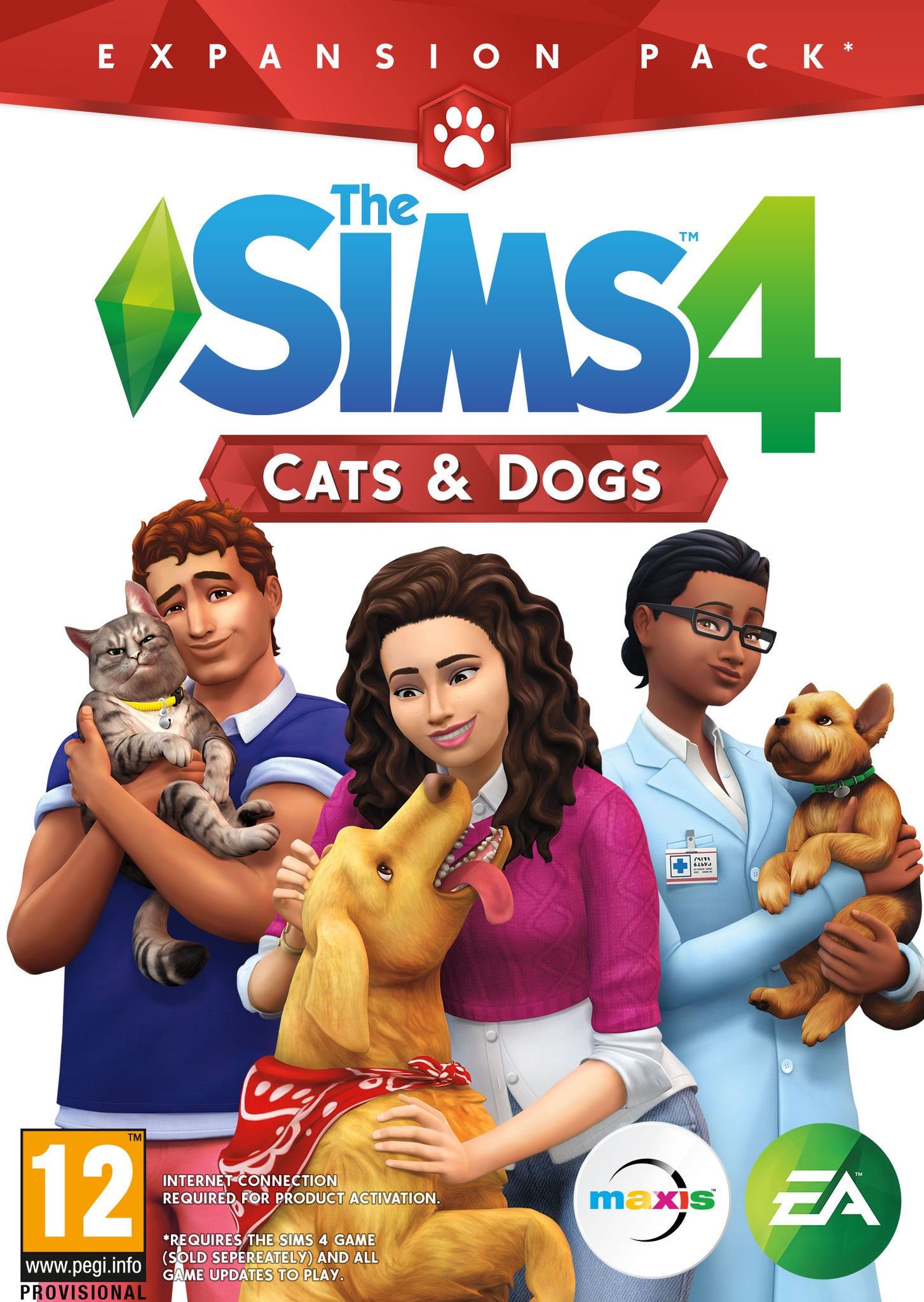 The Sims™ 4 Cats & Dogs - PC CIAB