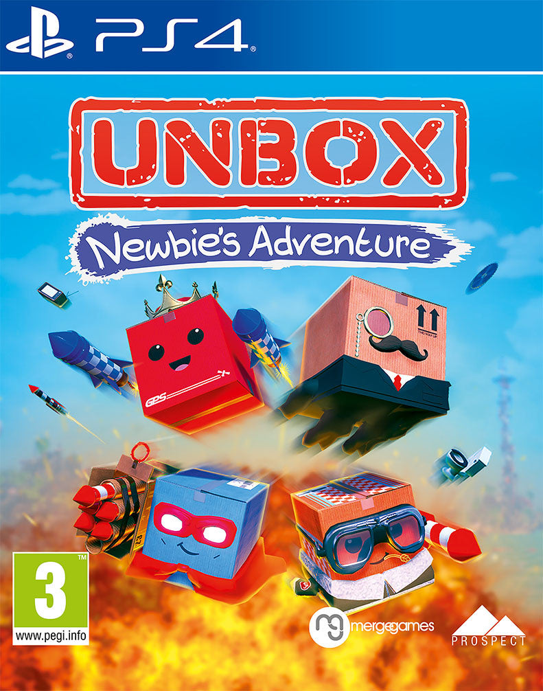 Unbox: Newbies Adventure - PS4