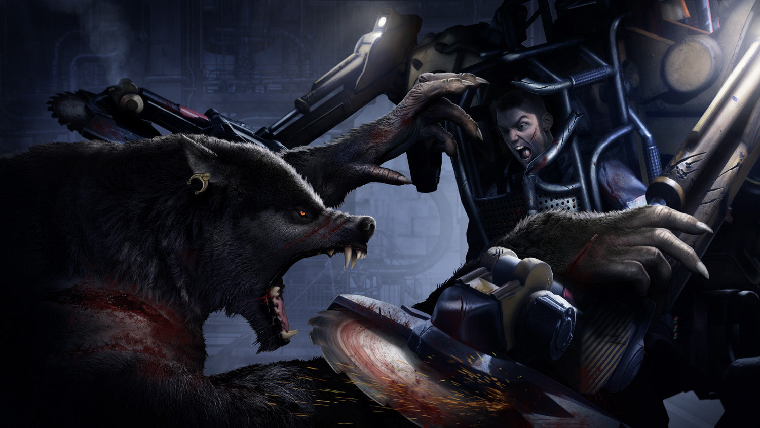 Werewolf: The Apocalypse - Earthblood - PlayStation 4
