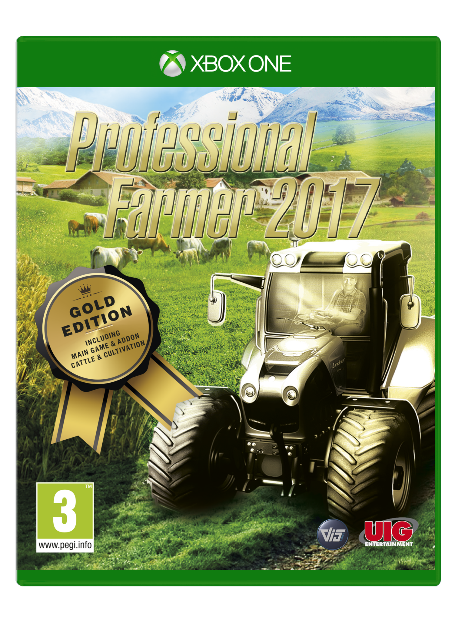 Professional Farmer 2017 Gold Edition (Xbox One) - Video Games by UIG Entertainment The Chelsea Gamer