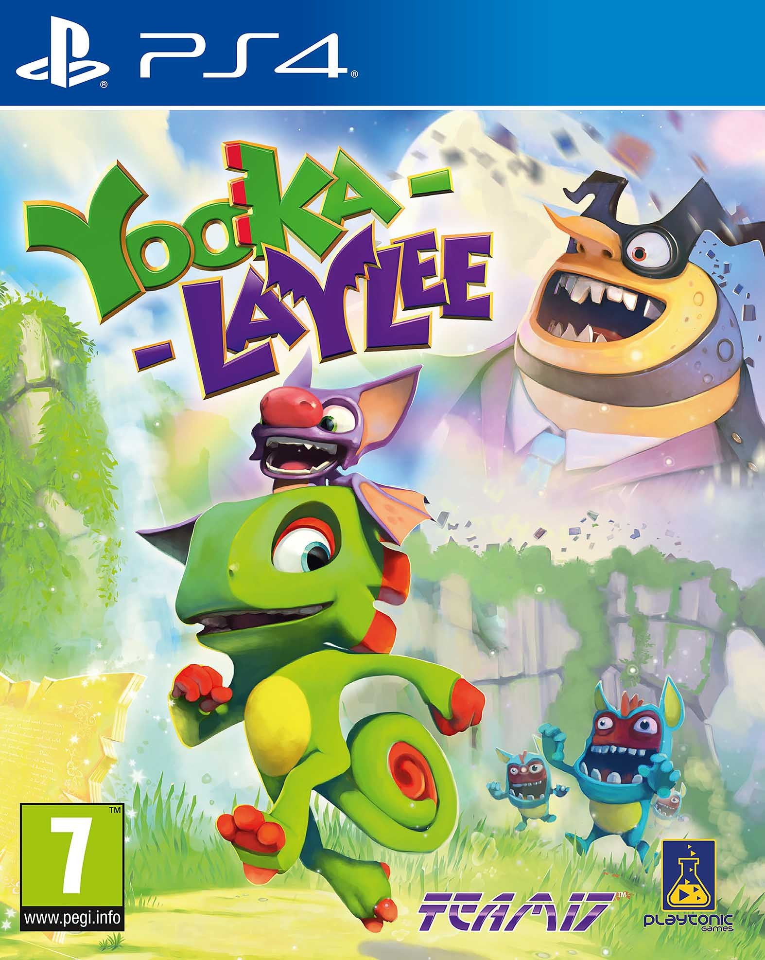 Yooka Laylee - PS4 - Video Games by Sold Out The Chelsea Gamer