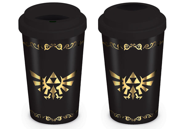 The Legend of Zelda Triforce Travel Mug, Ceramic