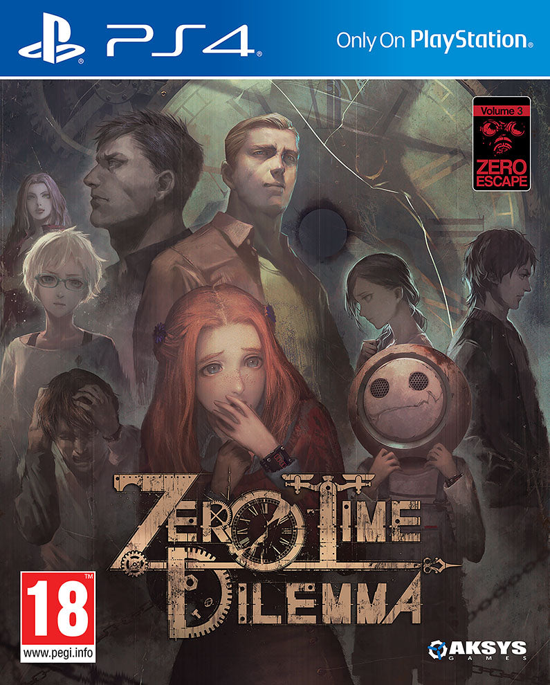 Zero Time Dilemma - PS4