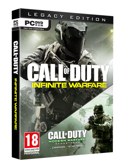 Call of Duty Infinite Warfare : Legacy Edition for PC - Video Games by ACTIVISION The Chelsea Gamer