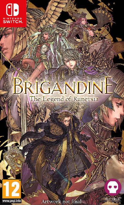 Brigandine: The Legend of Runersia - Nintendo Switch