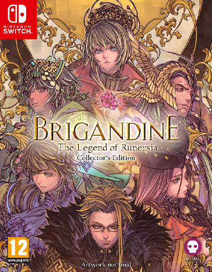 Brigandine: The Legend of Runersia - CE - Nintendo Switch