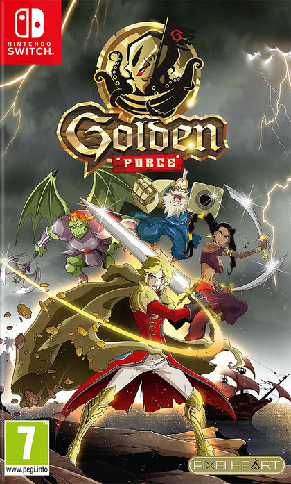Golden Force - Nintendo Switch