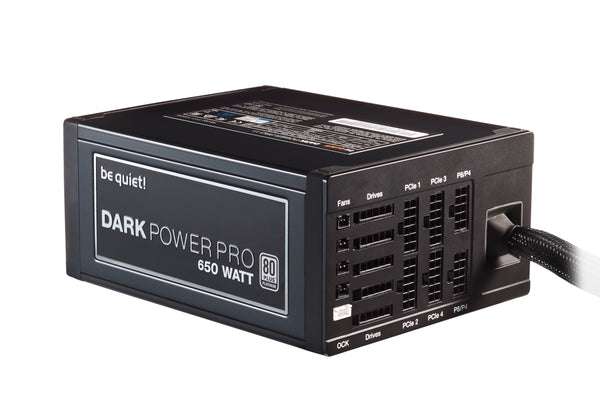 Be Quiet! Dark Power Pro 11 - 650W - Core Components by Be Quiet The Chelsea Gamer