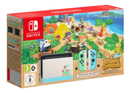 Nintendo Switch Hardware Animal Crossing New Horizons Edition
