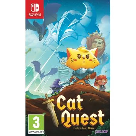 Cat Quest - Nintendo Switch - Video Games by pqube The Chelsea Gamer