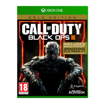 Call of Duty®: Black Ops III - Gold Edition - Xbox One - Video Games by ACTIVISION The Chelsea Gamer