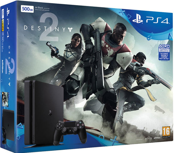 Destiny 2 - Sony PlayStation 4 - Slim 500GB Bundle - Console pack by Sony The Chelsea Gamer