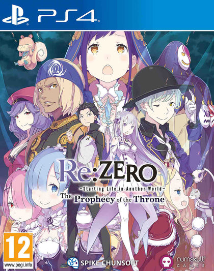 Re:ZERO - The Prophecy of the Throne - PlayStation 4