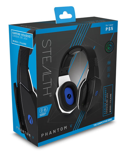 STEALTH SP-Phantom V Stereo Gaming Headset (Black)