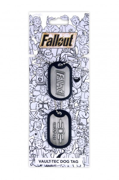 Fallout Dog Tags Vault 101 - merchandise by Gaya The Chelsea Gamer