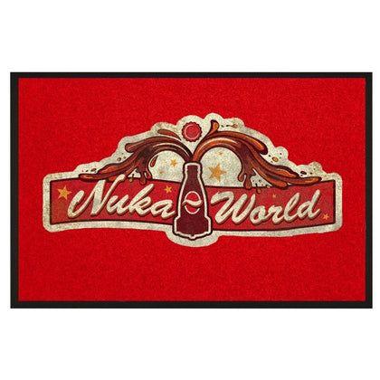 Fallout Doormat Nuka World - merchandise by Gaya The Chelsea Gamer