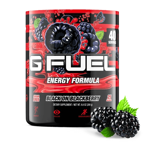G Fuel - Black On Blackberry Tub