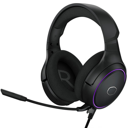 Cooler Master MH650 7.1 Virtual Surround Sound RGB LED Gaming Headset