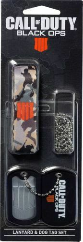 Call of Duty Black Ops 4 - Lanyard & Dog Tag Set