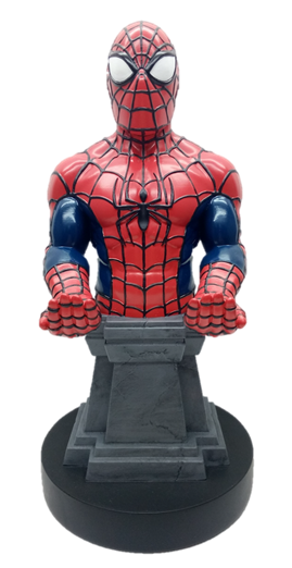 Spiderman Plinth - Cable Guy