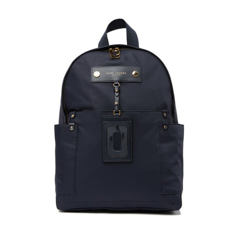 Marc Jacobs Preppy Nylon Backpack French Navy