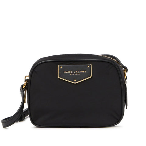Marc Jacobs Voyager Nylon Square Crossbody Bag Black M0016119 lussocitta