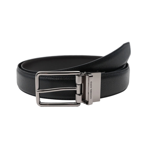 Michael Kors Mens 4-in-1 Leather Belt Gift Set Box 36H9LBLY1L