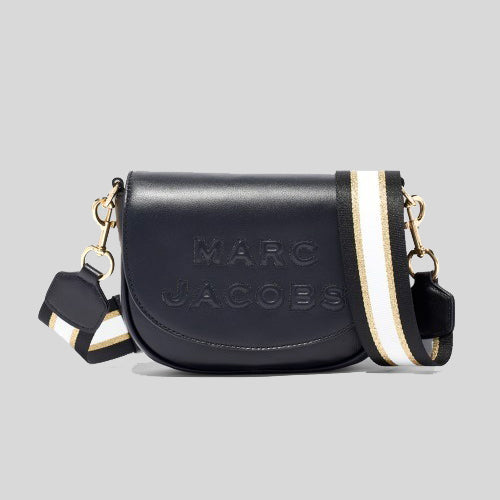 Marc Jacobs Flash Saddle Bag Black M0016396