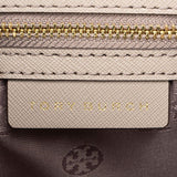 Tory Burch Emerson Structured Satchel French Grey