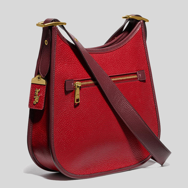 Coach Emery Crossbody In Colorblock 688 Red Apple Multi
