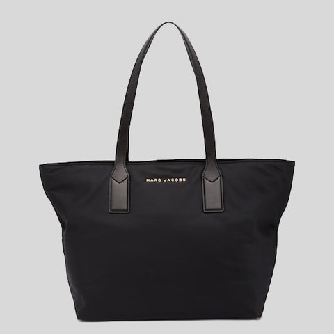 Marc Jacobs Nylon Wingman Tote Bag Black